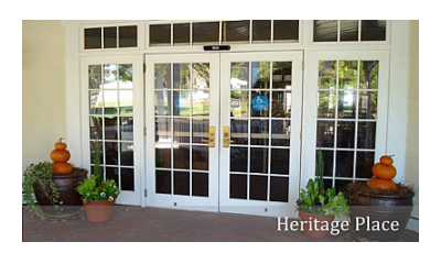 Heritage Place, Front Entrance of Building, Pender Adult Services, Inc. Burgaw, NC